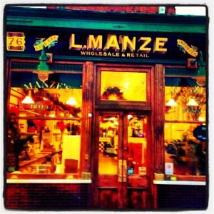 Manze Shop Front