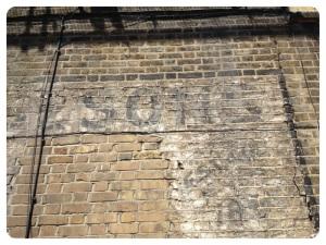 Sign Near St James Station