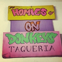 Homies On Donkeys